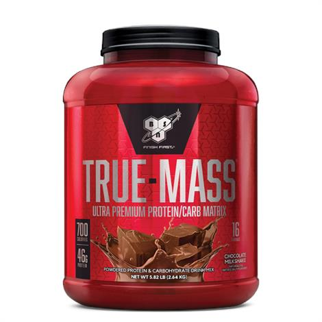 BSN True Mass Powdered Drink Mix,Chocolate,Each,180002