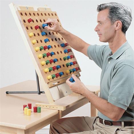 Sammons Preston Activity Board,Deluxe,Weight: 8.6lb,Each,4066