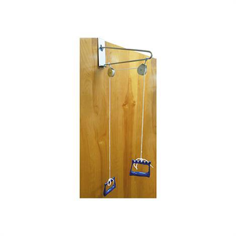 "Hausmann Door Mounted Overhead Pulley,2.5"" W x 16"" D x 6"" H,Each,2623"