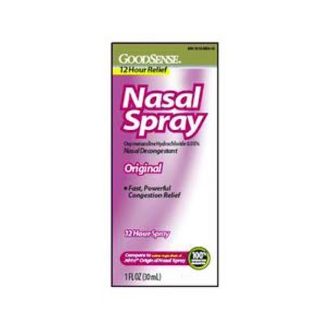 GoodSense Original Nasal Spray,Nasal Spray,1 oz,Each,LP13995