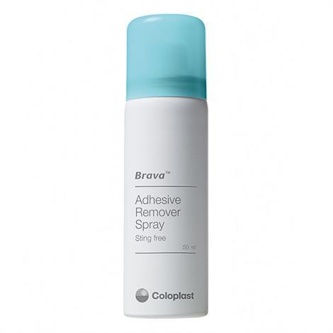 Coloplast Brava Adhesive Remover Spray,1.7oz. (50mL) Spray Bottle,5/Pack,120105