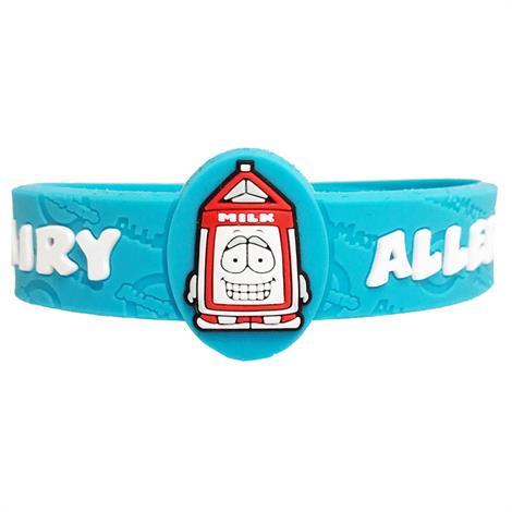 AllerMates Dairy Allergy Alert Bracelet,Dairy Allergy Alert Wrist Band,Each,BR-10025