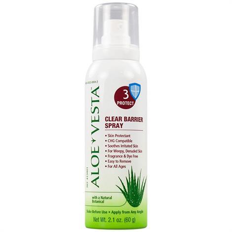 ConvaTec Aloe Vesta Protective Barrier Spray,2.1oz,Spray Bottle,24/Case,413401