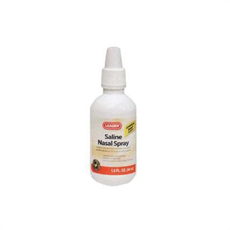 Leader Saline Nasal Spray,1.5 Oz,Each,5320783