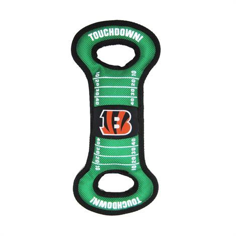 Mirage Cincinnati Bengals Field Tug Toy,Cincinnati Bengals Tug Toy,Each,300-07 FTT 300-07 FTT