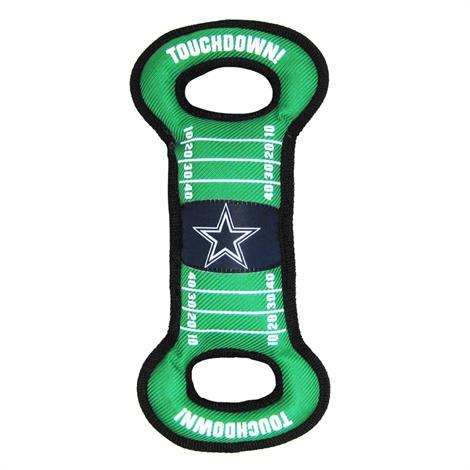 Mirage Dallas Cowboys Field Tug Toy,Dallas Cowboys Tug Toy,Each,300-09 FTT 300-09 FTT