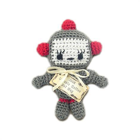 Mirage Knit Knacks Bot Organic Cotton Small Dog Toy,Baby Bot Dog Toy,Each,500-018
