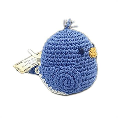 Mirage Knit Knacks Blueberry Bill Organic Cotton Small Dog Toy,Blueberry Bill Dog Toy,Each,500-004