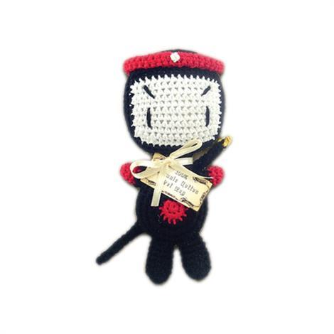 Mirage Knit Knacks Miyagi Organic Cotton Small Dog Toy,Miyagi Dog Toy,Each,500-014