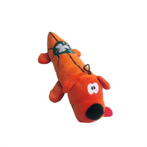 Mirage Boston Celtics Plush Squeaky Dog Tube Toy,Boston Celtics Dog Tube Toy,Each,305-01 TBT