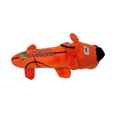 Mirage Golden State Warriors Plush Squeaky Dog Tube Toy,Golden State Warriors Dog Tube Toy,Each,305-11 TBT