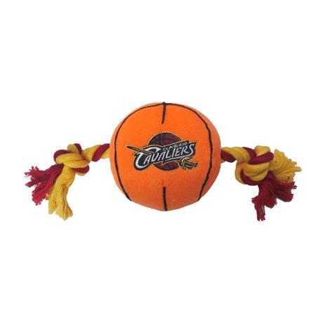 Mirage Cleveland Cavaliers Plush Basketball Dog Toy,Cleveland Cavaliers Dog Toy,Each,305-10 BLT-