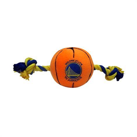 Mirage Golden State Warriors Plush Basketball Dog Toy,Golden State Warriors Dog Toy,Each,305-11 BLT