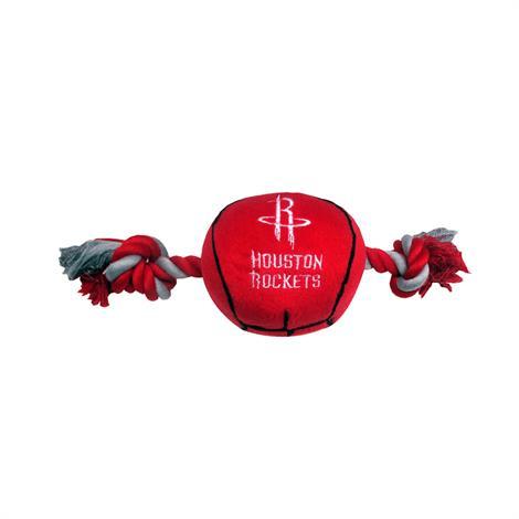 Mirage Houston Rockets Plush Basketball Dog Toy,Houston Rockets Dog Toy,Each,305-14 BLT