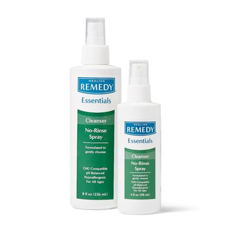 Remedy Essentials No-Rinse Cleansing Spray,Cleansing Spray,4 oz.,48/cs,MSC092SCSW04