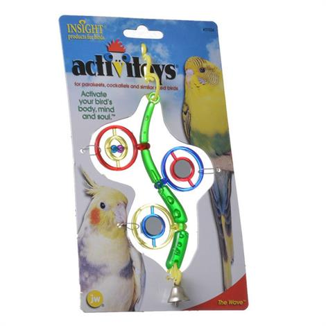 JW Insight The Wave Bird Toy,The Wave Bird Toy,Each,31034