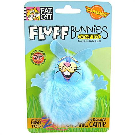 Fat Cat Fluff Bunnies Cat Toy - Assorted,Fluff Bunnies Cat Toy,Each,650554
