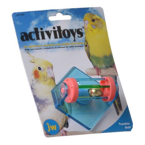 JW Insight Tumble Bell Bird Toy,Tumble Bell Bird Toy,Each,31009