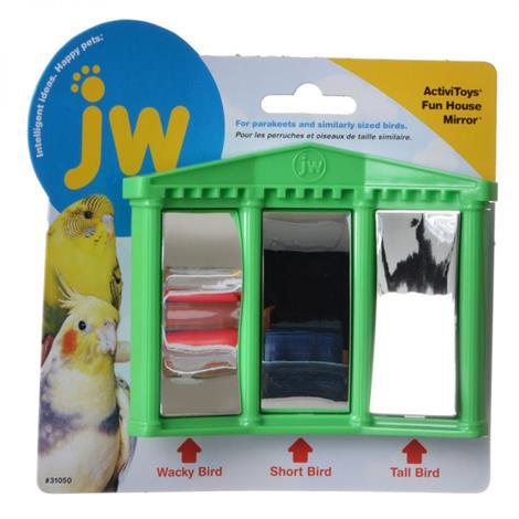 JW Insight Fun House Mirror Bird Toy,Fun House Mirror Bird Toy,Each,31050