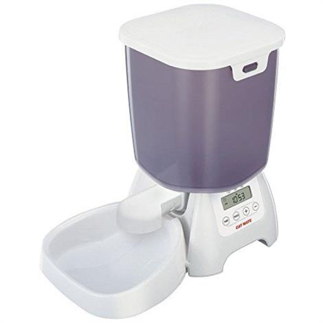 Cat Mate Automatic Dry Food Feeder C3000,Program to Feed 3x/Day,Each,C3000