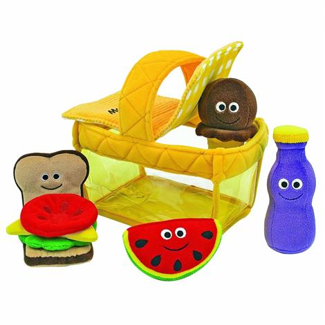 "Melissa & Doug Picnic Basket Fill And Spill Soft Toy,10"" x 6"" x 11"",Each,3048 MDL3048"