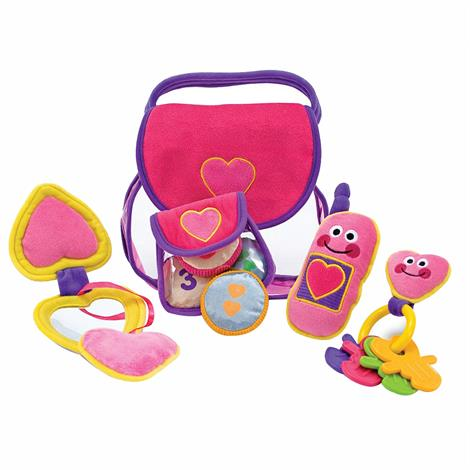 Melissa & Doug Pretty Purse Fill And Spill Soft Toy,10 x 6 x 11,Each,3049