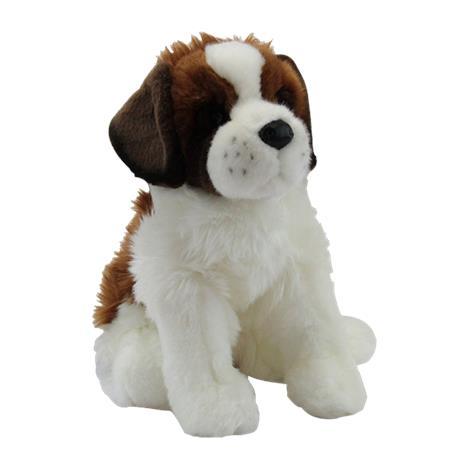 St.Bernard Puppy Plush Toy,7-1/2L x 3-3/4W x 7H,Each,437