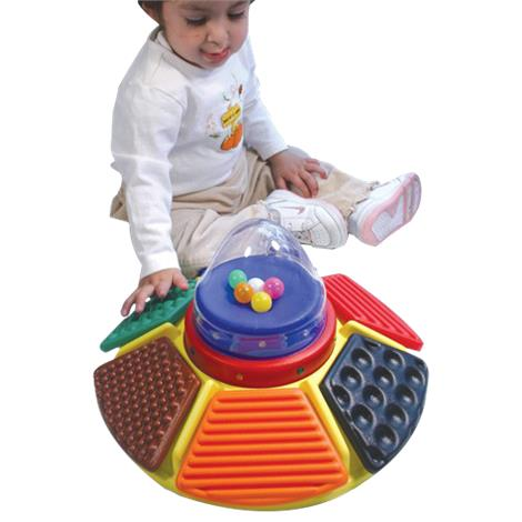 Textured Carousel Busy Box Switch Toy,12D X 6-1/2H,Each,2241