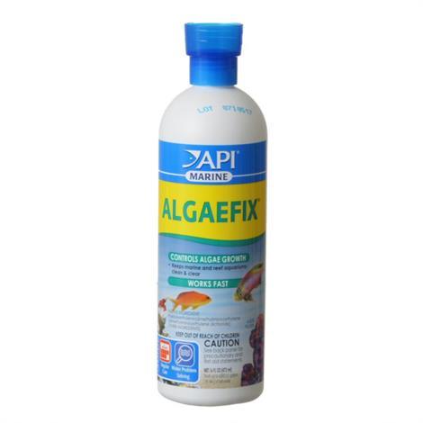 API AlgaeFix for Marine Aquariums,16 oz,Each,387D