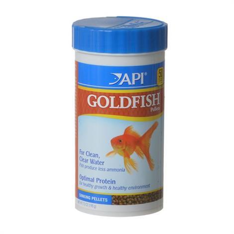 API Goldfish Premium Pellet Food,7 oz,Each,833C
