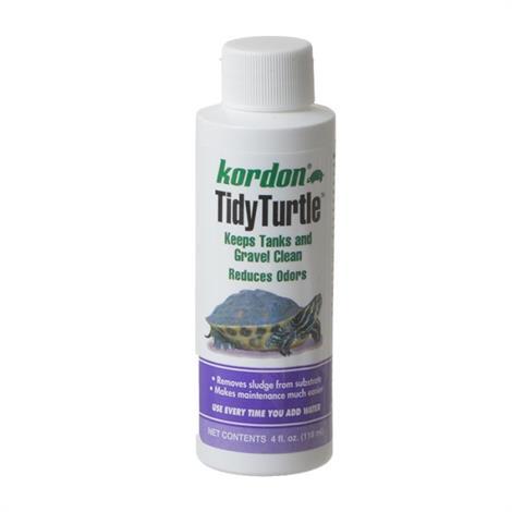 Kordon Tidy Turtle Tank Cleaner,4 oz,Each,39744