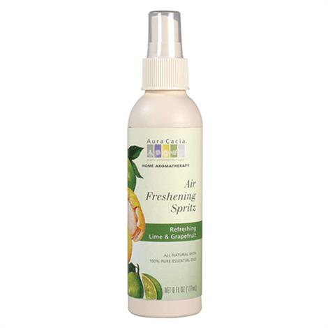 Aura Cacia Lime and Grapefruit Air Freshening Spritz,Air Freshening Spritz 6 Oz,Each,188642
