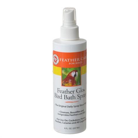 Gimborn Feather Glo Bird Bath Spray,8 oz,Each,423426