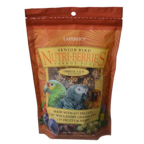 Lafeber Senior Bird Nutri-Berries Parrot Food,10 oz,Each,81350