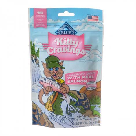 Blue Buffalo Kitty Cravings Crunchy Cat Treats - Real Salmon,2 oz,Each,12023