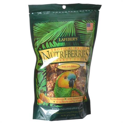 Lafeber Tropical Fruit Nutri-Berries Parrot Food,3 lbs,Each,82652