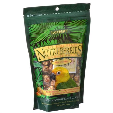 Lafeber Tropical Fruit Nutri-Berries Conure Food,10 oz,Each,82645