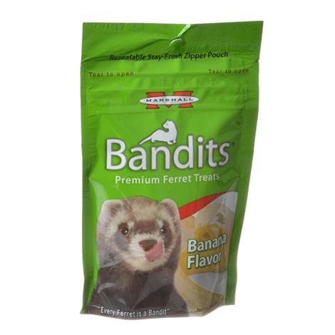 Marshall Bandits Premium Ferret Treats - Banana Flavor,3 oz,Each,FD385