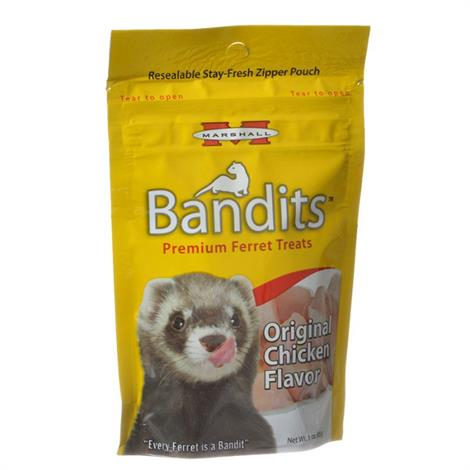 Marshall Bandits Premium Ferret Treats - Chicken Flavor,4 oz,Each,FD384