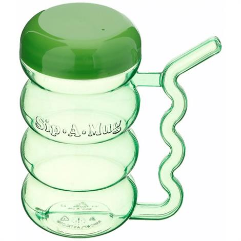 Cup with Built In Straw,Small,Holds 13oz ,Each,555671