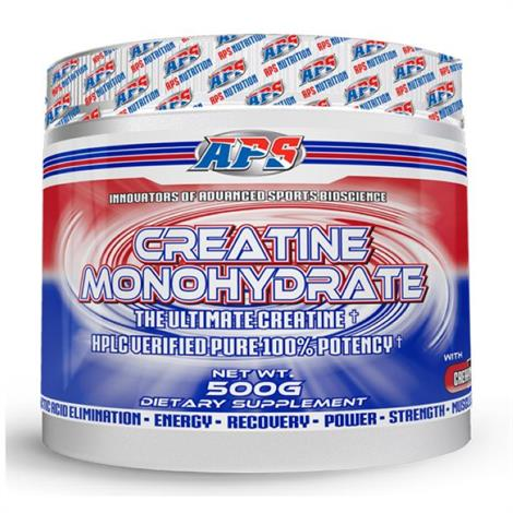 APS Creatine Monohydrate Dietary,Dietry,500g,Each,3290024