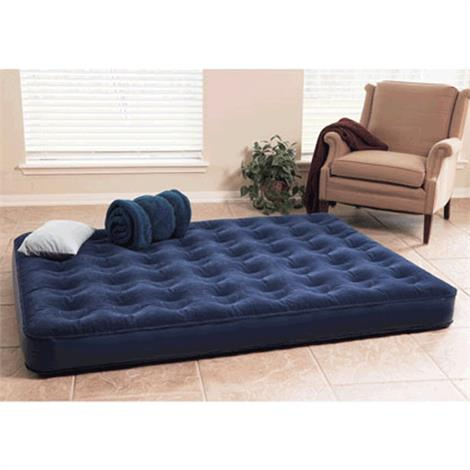 Texsport Deluxe Air Bed with Built In Battery Pump Queen,Air Bed with Built In Battery Pump,Each,22410
