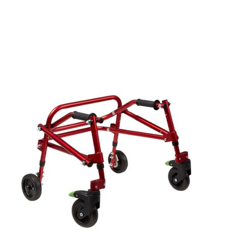 "Klip Lightweight 4-Wheeled Posterior Walker,Small,Red,With 8"" Wheels,Each,KP428R - from $369.00"