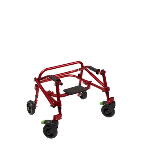 "Klip Lightweight 4-Wheeled Posterior Walker With Seat,X-Small,Red,With 8"" Wheels,Each,KP518 - from $429.00"