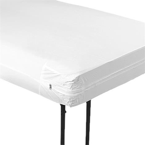 "Invacare Zippered Mattress Cover,80""L x 6""H x 36""W,Thickness: 5.5mil,12/Pack,MC0195-1"
