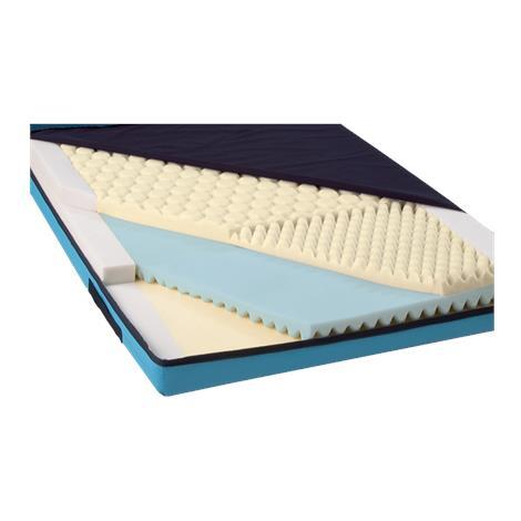 Medline Advantage-FB 2500 Foam Mattress,36W x 76L x 6D,With Raised Edges,Each,MSCADV2576FR
