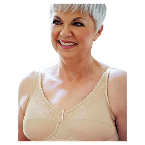 ABC Lace Trim Soft Cup Mastectomy Bra Style 120 27957