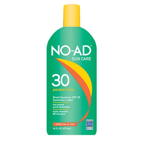 No-Ad General Protection Sunscreen Lotion With SPF 30,16oz Bottle,Each,NA214-400-DM06