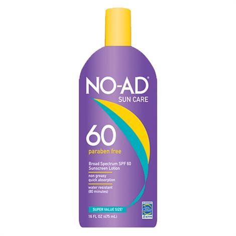 No-Ad General Protection Sunscreen Lotion With SPF 60,16oz Bottle,Each,NA224-400-DM06