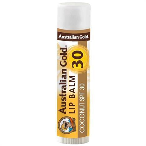 Australian Gold Lip Balm with SPF 30,SPF 30,Each,A70090